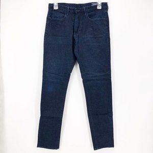 Bonobos Mens Straight Jeans Blue Stretch 33 x 34